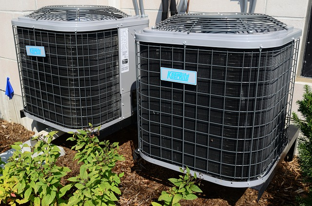 Kissimmee air conditioning system outdoors